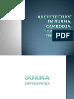 Architecture in Burma, Cambodia, Thailand &