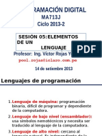 Programacion Digital MA713J Sesion05