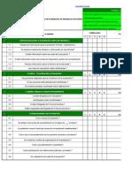 Check List Evaluación de Simulacros