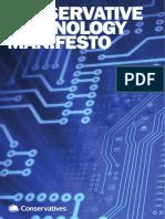 Conservative Technology Manifesto