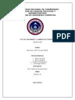Ley de Aduanas Grupo