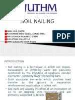 SOIL NAILING Presentation