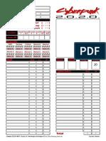 CyberPunk2020 form fillable character sheet
