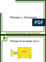 Mounting and Alignment-Spanish