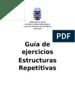 Guía Estructuras Repetitivas - Java