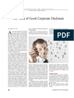 the value of good corporate disclosure.pdf