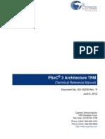 PSoC 3 Architecture TRM_001-50235