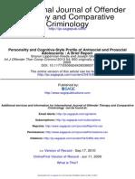 Int J Offender Ther Comp Criminol 2010 Lipperman Kreda 850 6