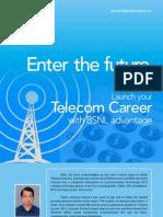 BSNL Telecom Career Prospectus