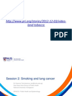 Public Health on Lung Cancer