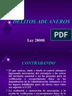 Sesion Delitos Aduaneros Ley 28008
