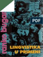 Ranko Bugarski - Lingvistika u Primeni 2007