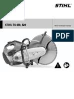 STIHL TS410-420