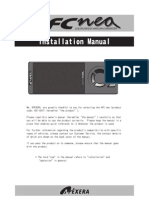 Apexi Neo Installation Manual