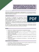 Proyecto de Vida Saludable.alumnos Del Liceo Industrial 2