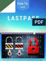 Tutorial in LastPass