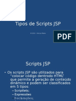 Tipos de Scripts JSP