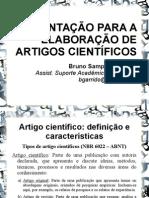 Apresentação Artigos Científicos Para Estagiários de Psicologia (Simplificado)