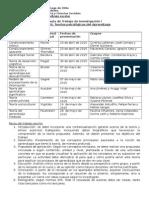 Pauta de Trabajo de Investigación I 2015