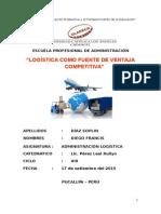 Administracion Logistica Como Fuente de Competitividad