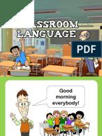 Classroom Language PPT