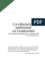 Historia de La Educación Ambiental Guate