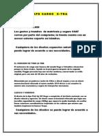 Presentacion APE CARGO X Tra