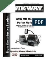 Svs Dii Spanish Manual