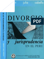 Divorcio y Jurisprudencia en El Peru - Carmen Julia Cabello