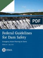 Evacuation plan dam