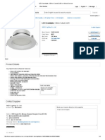LED Downlights, 120mm Cutout, 9x2W on Global Sources