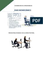 RIESGOS BIOMECANICOS diapositivass