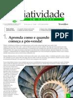Criatividade em Vendas - Aprenda como e quando começa a pós-venda - www.editoraquantum.com.br