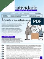 Criatividade em Vendas - Qual é a sua relação com o cliente - www.editoraquantum.com.br