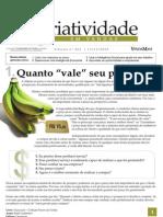 Criatividade em Vendas - Quanto vale seu preço - www.editoraquantum.com.br