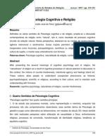 Psicologia Cognitiva e Religião
