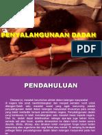 penyalahgunaan dadah