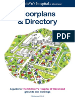 CHWfloorplans and Directory ClinicalSchool