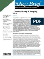 Economic Survey of Hungary 2010