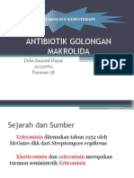 Antibiotik Golongan Makrolida