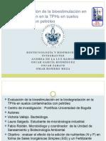 Artículo Evaluación de La Bioestimulación en La Biodegradación