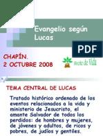 Evangelio de Lucas. Sesión 1ª. Cap 1-4.13