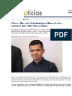18-09-2015 Oro Noticias - Ofrece Moreno Valle Trabajo a Ricardo Aca, Poblano Que Enfrentó a Trump