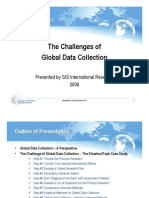 Challenges of Global Data Collection - SIS International
