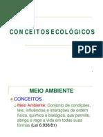CONCEITOS ECOLÓGICOS