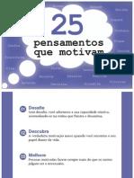 25 Pesamentos Que Motivam - Www.editoraquantum.com.Br