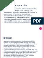 COMPUTAFORA PORTÁTIL