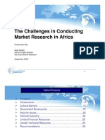 The Africa Market Research Challenge - SIS International