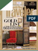 Condé Nast TRAVELER (Cntraveler.com) 2010 Gold List