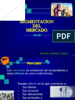 SEGMENTACION   en marketing